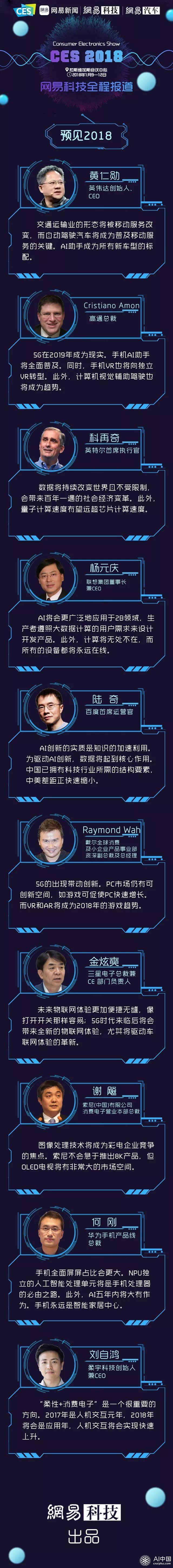 预见2018|黄仁勋科再奇杨元庆们都在期待着什么?