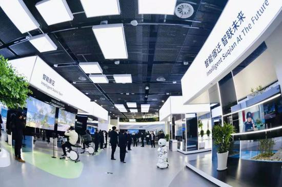 华为部署5G站点 宿迁智能城市科技馆开馆