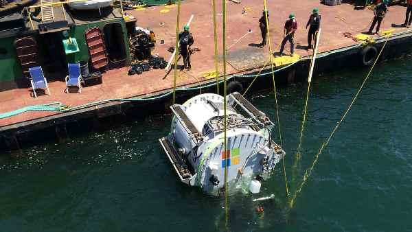 微软海底数据中心增监控镜头,直播海底变看鱼