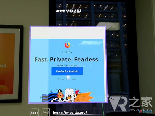 Mozilla为Magic Leap One开发浏览器