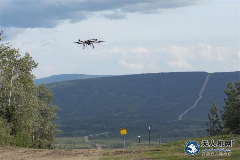 无人机首次在美国阿拉斯加州进行超视距石油巡线作业