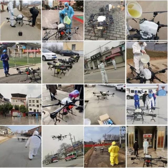 大疆「空军」逆行战疫:消杀6亿平方米,防护千座村落