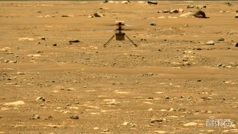 80秒飞100米!NASA火星直升机完成第三次试飞,比地球测试速度更快