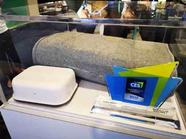 【CES 2020】Motion Pillow 全自动止鼻鼾智能枕头,消灭鼻鼾 + 改善睡眠