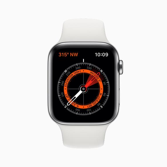 部分表带内含有磁体 会对 Apple Watch 指南针造成干扰