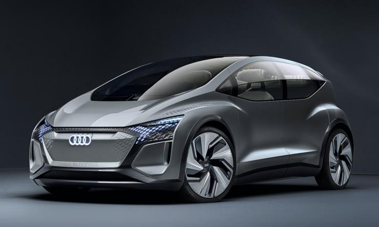 奥迪 AI:ME 概念车:配备L4级自动驾驶、纯电动,为城市出行而生 | 2019 上海车展