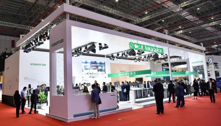 舍弗勒为自动驾驶做出准备,L4/L5级智能转向与线控技术 | 2019上海车展
