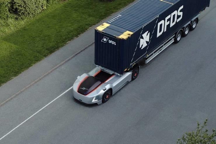 沃尔沃的 Vera 自动卡车将在公共道路上运输货物