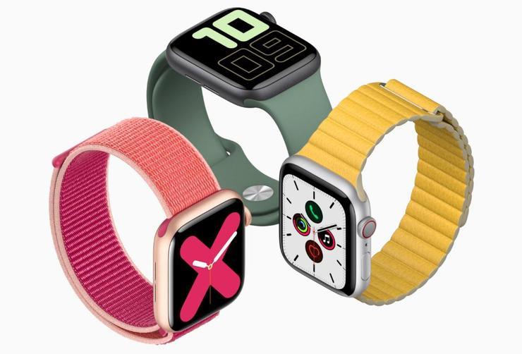 苹果Apple Watch 5这样在官网上线:是焦虑,还是策略?