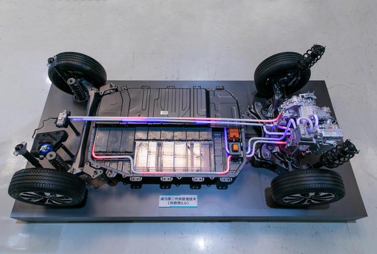 冬季续航增程20%,借助电池热管理2.0,威马准备跑赢特斯拉?