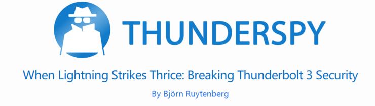 无法修复?黑客 5 分钟即可破解 Thunderbolt,所有装有 Thunderbolt 的计算机都中招!