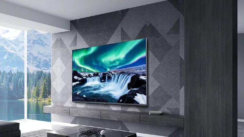 小米全面屏电视Pro真容公布:金属外观 3D美背