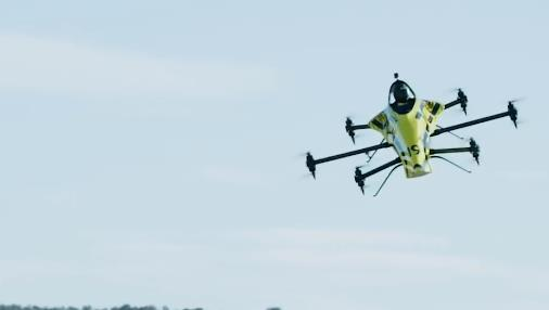 飞行F1赛车!载人特技无人机竞赛要来了?