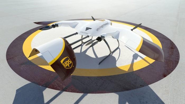UPS与Wingcopter合作开发下一代交付无人机