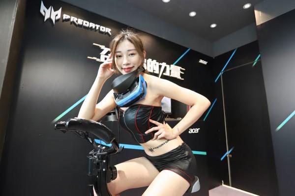 宏基跟VirZoom合作推出MR体感脚踏车