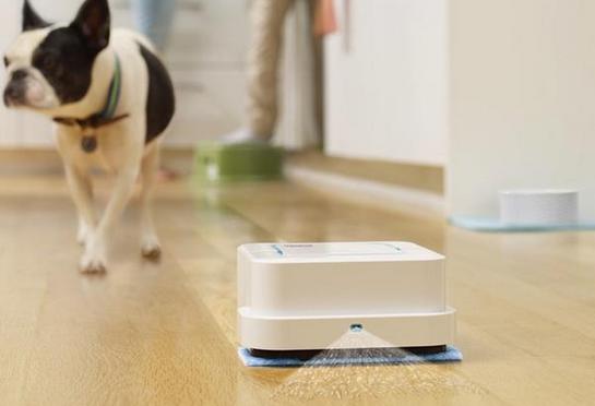 扫地机器人不稀奇 会拖地的新款iRobot来啦!乐智网