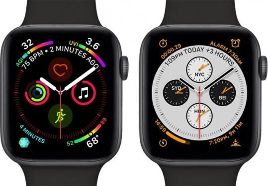 苹果Apple Watch Series 4获年度最佳显示屏奖