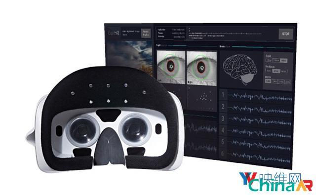 Looxid发布移动AR头显:搭载眼动追踪和脑电传感器 AR资讯