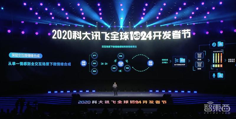 """科大讯飞发布讯飞AI云!认知中台""""花开""""AI科技树,1024计划进阶4.0"""