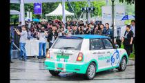 百度Apollo自动驾驶共享汽车于重庆正式开放试运营